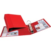 "Avery(R) Heavy-Duty Binder with 4"" One Touch EZD(TM) Ring 79584, Red"