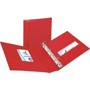 "Avery(R) Durable Binder with 2"" Slant Rings 27203, Red"