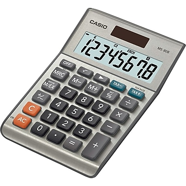 Casio® MS-80B 8-Digit Display Calculator