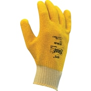 Best Manufacturing Company Yellow PVC Fully Coated 15/Pairs General Purpose Work Gloves, M