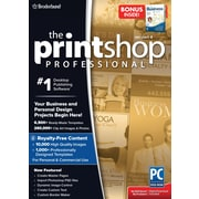 The Printshop v4 Professional with Bonus Easy Business Imprints (1 User) [Boxed]