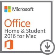 Office Home and Student 2016 for Mac (1 User) [Download]