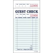 Alliance G3616, Single Copy, Green, 16 Line, Guest Checks, 100 Checks per Book, 50 Books/Ctn