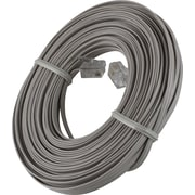 Power Gear 50' Ultra Thin Line Phone Cord (Dove Gray)