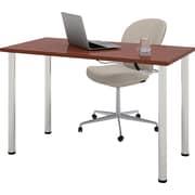 bestar 47.5'' Rectangular Training Table, Bordeaux (65852-39)