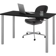 bestar 47.5'' Rectangular Training Table, Black (65855-18)