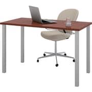 bestar 47.5'' Rectangular Training Table, Bordeaux (65855-39)