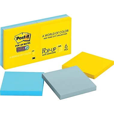 Post-it® Pop-Up Super Sticky 3