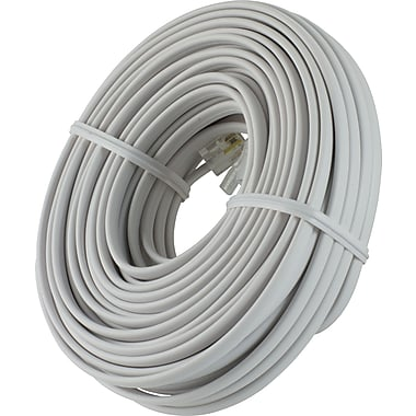 Power Gear Telephone Line Cord (50 ft.)