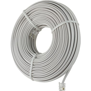 Power Gear Telephone Line Cord (100 ft.)