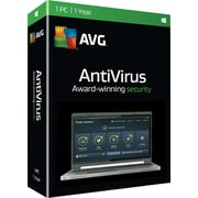 AVG AntiVirus 2016, 1 Year for Windows (1 User) [Download]