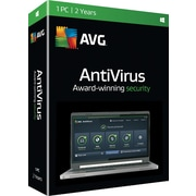 AVG AntiVirus 2016, 2 Year for Windows (1 User)