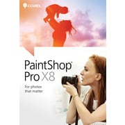 Corel PaintShop Pro X8 for Windows (1 User) [Download]