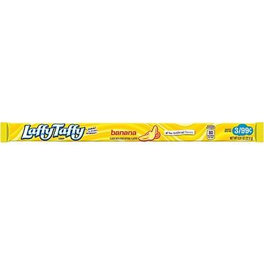 Wonka® Laffy Taffy® Rope Banana, 0.81 oz., 24 Ropes/Box