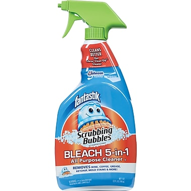 Fantastik® Scrubbing Bubbles® Bleach 5-in-1 All Purpose Cleaner, 32 oz.