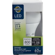 Brighton Professional™ 60W Equiv. LED Dimmable Standard Lamp Light Bulb