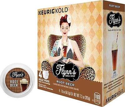 Keurig KOLD Flynn s Root Beer 8 oz 4 pack
