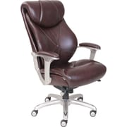 La-Z-Boy Cantania ComfortCore Innovations AIR Technology Executive Office Chair - Coffee  (Brown)