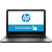 "HP 15-af130nr 15.6"" Backlit Touchscreen,AMD A8,750GB HDD,6GB RAM Windows 10 Laptop, Gray"