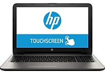 HP 15-af130nr 15.6' Backlit Touchscreen AMD A8 750GB HDD 6GB RAM Windows 10 Laptop, Gray