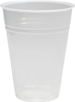 Boardwalk Translucent Plastic Cold Cups, 10 oz, Translucent, Plastic, 1000/Carton (BWK TRANSCUP10) BWKTRANSCUP10CT