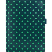 """Filofax® 2016 Domino Patent Weekly Organizer, Pine with Spots High Gloss, Jan. - Dec., A5 Size, 9-1/4"""" x 7-5/8"""" (C022518)"""