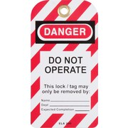 Honeywell Safety Products: North Safety Lock Out Tag 25/Pack