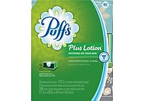 Puffs® Plus 2-Ply Lotion Facial Tissues, 116 Sheets/Box, 3 Boxes/Pack (PGC 82086)