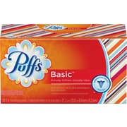 Puffs® Basic 2-Ply Facial Tissues Family Size (PGC 84736/34457)