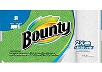 Bounty 2-Ply Select-A-Size Paper Towels, 8 Rolls/Case