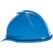 "MINE SAFETY APPLIANCES CO. (MSA) Polyethylene Advance Vented Hard Helmet, 11.5"" x 8.6"" Blue"