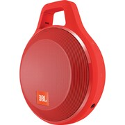 JBL Clip+ Portable Bluetooth Speaker, Red