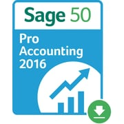 Sage 50 Pro Accounting 2016 US for Windows (1 User) [Download]