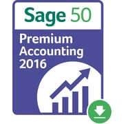 Sage 50 Premium Accounting 2016 US for Windows (1 User) [Download]