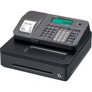 Casio SE-S100SC-SR Cash Register, Black