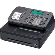 Casio SE-S100SC-SR Cash Register, Black