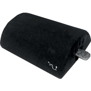 Smushion Memory Foam Lumbar Support Cushion, Black