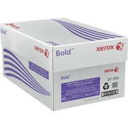 "Xerox® Bold™ Digital Printing Paper, 20% Recycled, 80 lb. Cover, 8 1/2"" x 11"", Case"