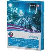 "Xerox® Vitality™ Multipurpose Printer Paper, 30% Recycled, 20 lb., 8 ½"" x 11"", Ream"