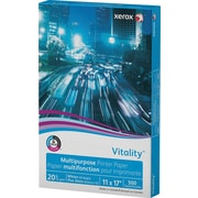"Xerox® Vitality™ Multipurpose Printer Paper, 11"" x 17"", White, 20 lb., Ream (3R3761)"