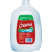 Ozarka® Distilled Water, 1-gallon Plastic Jug, 6/Case