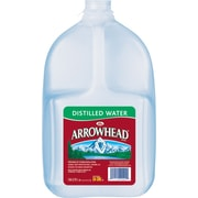 Arrowhead Brand Distilled Water, 1-Gallon Plastic Jug (3241612)