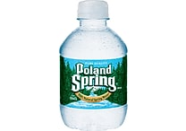 Poland Spring 100% Natural Spring Water, 8-ounce Plastic Bottle, 48/Case