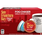 San Francisco Bay OneCup Fog Chaser Single Serve Coffee, 80 Pack