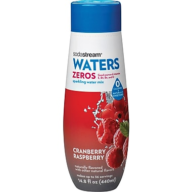 SodaStream Cranberry Raspberry Zero Calorie Sparkling Drink Mix, 440ml