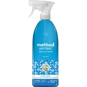 Method® Antibacterial Bathroom Cleaner Spray, Spearmint, 28 oz.