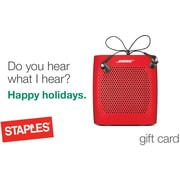 Staples® Speaker eGift Card (Email Delivery)