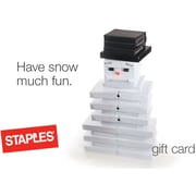 Staples® Snowman eGift Card (Email Delivery)