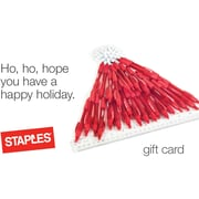 Staples® Santa Hat Gift Card $75