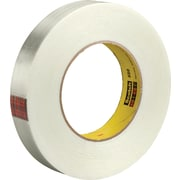 "3M™ 880 Strapping Tape, 1"" x 60 yds., Clear, 6/Case"